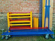 Вишка тура пересувна заввишки 7,5 м; оренда в Полтаві, прокат, продаж, фото 3