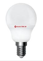 Светодиодная лампа шар E14 6W Electrum LB-9