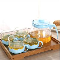 Набор для чаепития на 4 персоны. Разные цвета