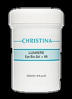 Гель Люмире с гиалуроновой кислотой для кожи вокруг глаз и шеи Eye & Neck Bio Gel + HA Lumiere, 250 мл