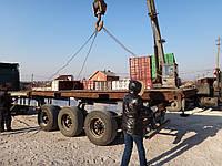 20 футовый контейнер платформа