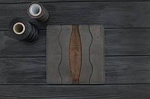 Портмоне (купюрник) из кожи ручной работы VOILE lw5-brn, фото 2