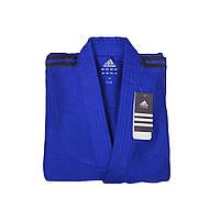 Детское кимоно для дзюдо Adidas Club J350 синее (Адидас)