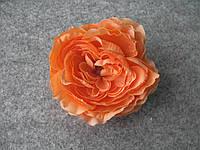 Пион искусственный 9-10 см коралловый (головка без листьев), фото 1