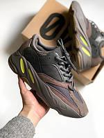 Кроссовки мужские Adidas Yeezy Boost 700 в стиле Адидас Изи Буст 700, коричневые
