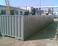 40 футовый флет-контейнер
