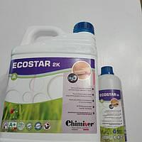 Лак паркетный,лак для паркета екостар 2к супермат Химивер(ecostar Chimiver)