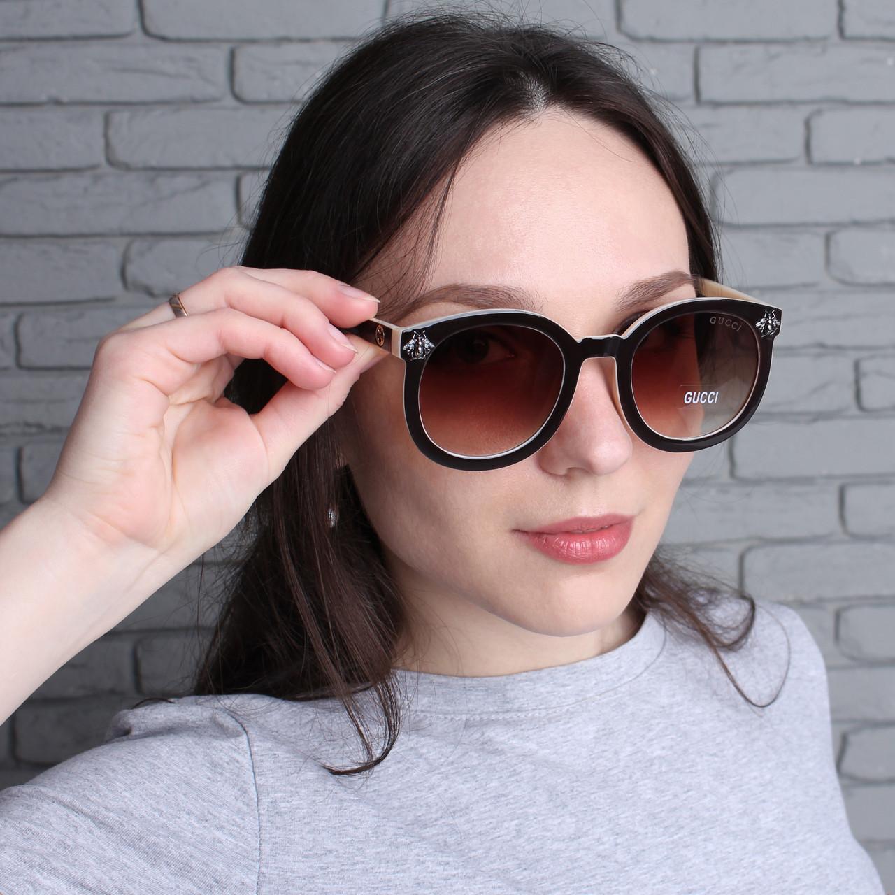 Женские солнцезащитные очки в стиле Gucci