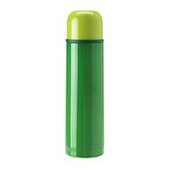 IKEA ХЭЛЬСА Стальной термос, зеленый, 0.5 л