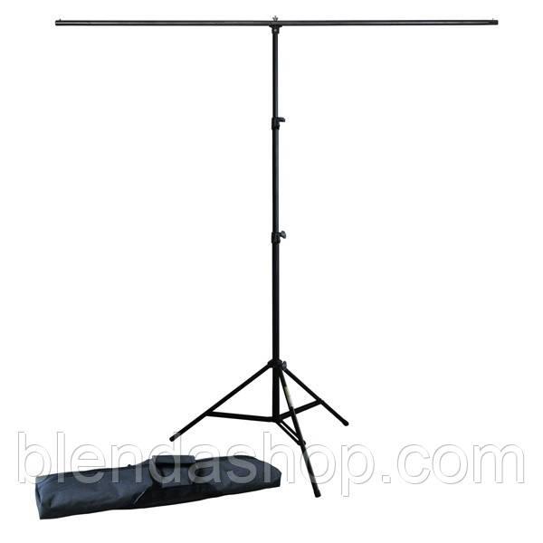 Мобільна установка - кріплення фону - тримач фону T-образний - розмір 150 см х 200 см (1,5 х 2,0 м)