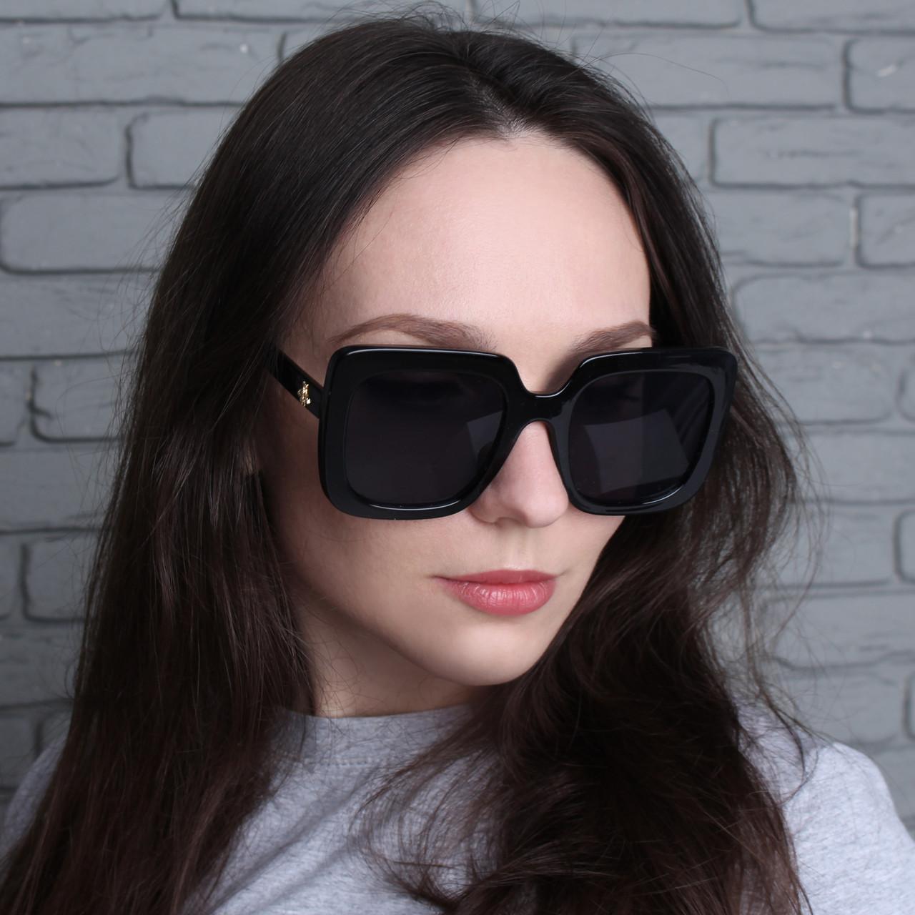 Женские большие квадратные очки