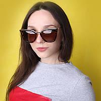 Стильные женские очки в леопардовой оправе