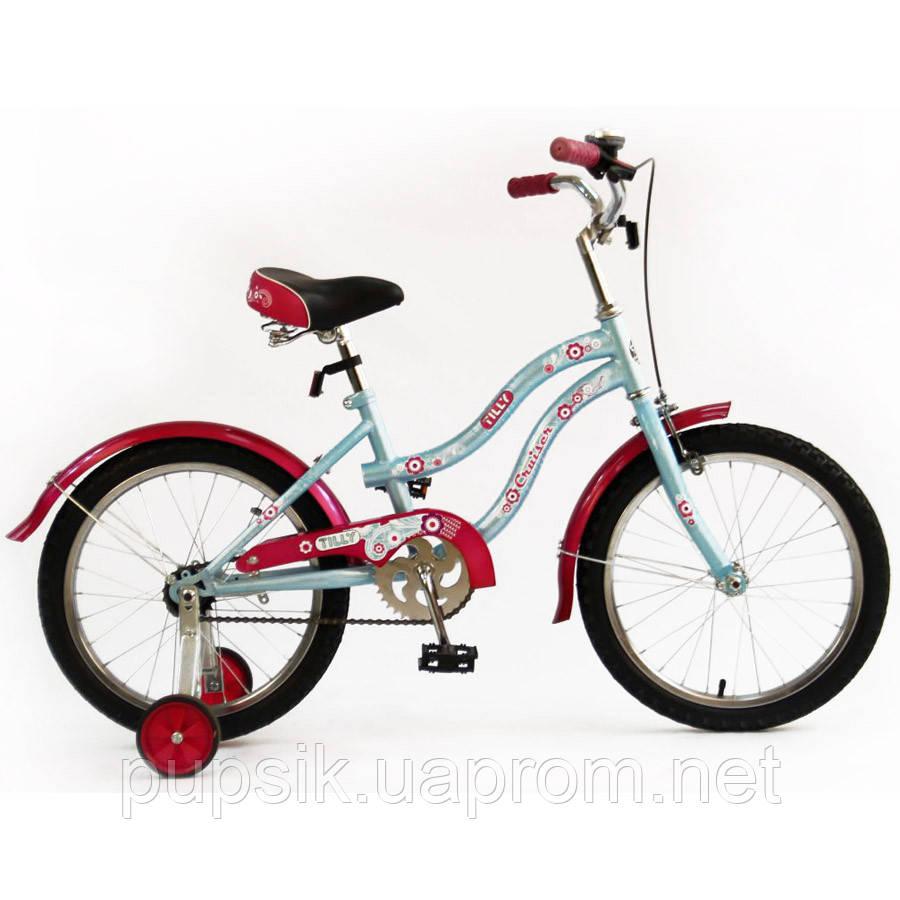 """Велосипед двухколесный Cruiser 18"""" BT-CB-0040 Light Blue"""