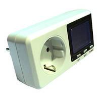Портативный счетчик электроэнергии с контролем потребления