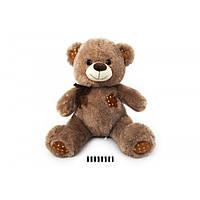 М'яка іграшка ведмедик Ведмедик з 70см, ведмідь коричневий
