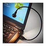 IKEA ЯНШО Светодиодная USB лампа, черный, фото 3