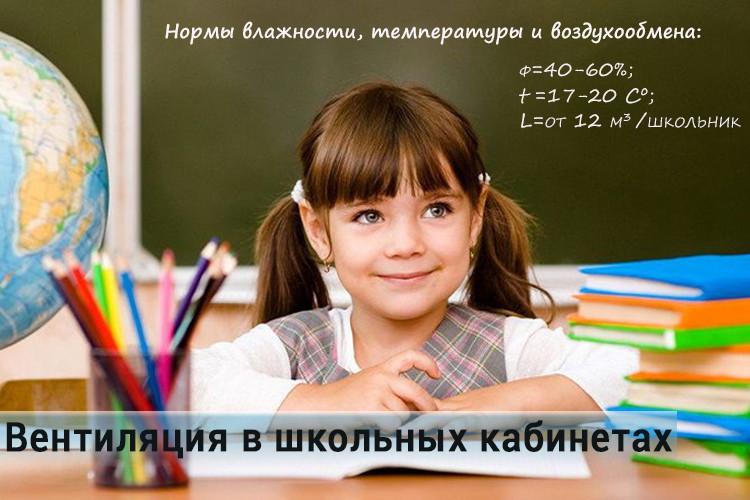 Вентиляція школи
