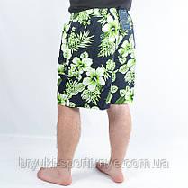 """Шорты мужские """" цветок"""" больших размеров, фото 2"""