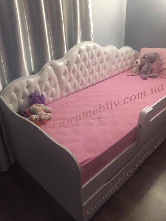 Детская кровать Л-6 (для девочки) в интерьере, фото наших покупателей
