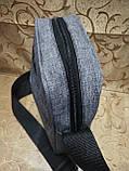 (Новый стиль)Барсетка fila ткань катион матовый/Сумка спортивные мессенджер для через плечо Унисекс ОПТ, фото 3