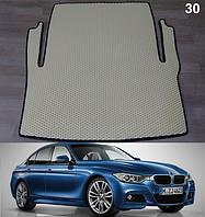 Коврик багажника BMW 3 F30 '12-19. Автоковрики EVA, фото 1