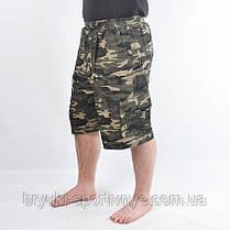 Шорты камуфляжные с накладными карманами, фото 2