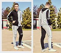 Мужской спортивный костюм / двунитка / Украина 47-1181, фото 1