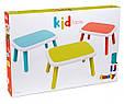Детский садовый пластиковый столик  Smoby Kid, фото 2