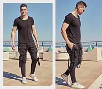 Мужские спортивные штаны / двунитка / Украина 47-1183, фото 1