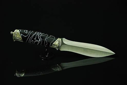 """Охотничий нож ручной работы """"Valor-1"""", N690, фото 2"""