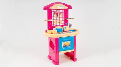 Детская кухня ТехноК с набором посуды и столовых приборов