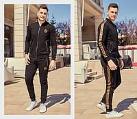 Мужской спортивный костюм / двунитка / Украина 47-1184, фото 1