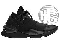 Мужские кроссовки Adidas Y-3 Qasa Kaiwa Chunky Total Black BB4756