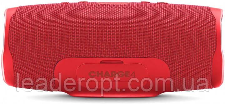 [ОПТ] Портативная Bluetooth колонка Power Bank, портативная акустика JBL Charge 4 Красная