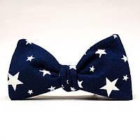Галстук-бабочка KRAGO Blue Starry Sky Синий KRG-00524, КОД: 187030