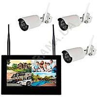 Комплект беспроводного видеонаблюдения KIT-FHD103, фото 1