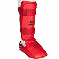 Защита для ног Budo-Nord WKF Approved Red XS, КОД: 100048