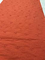 Батист вышивка ( красный )