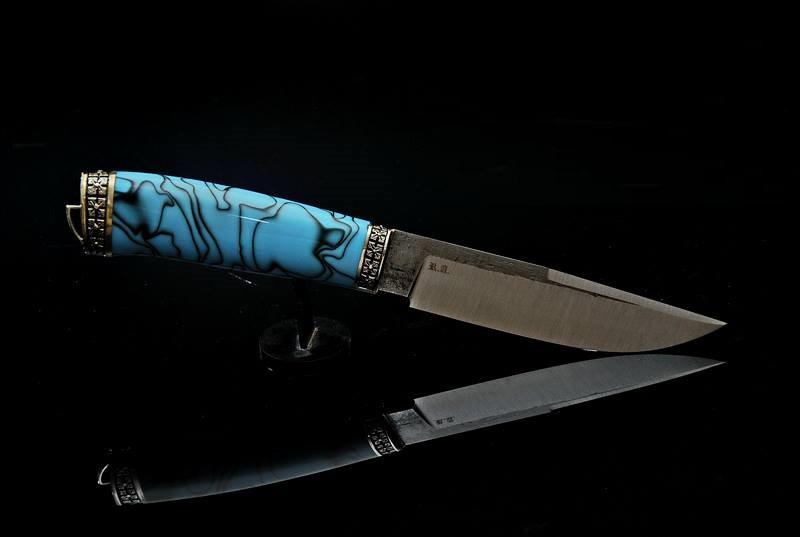 """Подарочный нож ручной работы """"Стихия-2"""", 95Х18"""