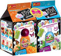 Гель для душа солодкий мандарин. Шампунь для волосся рецепти природи Ranok-Creative 304175, КОД: 304003