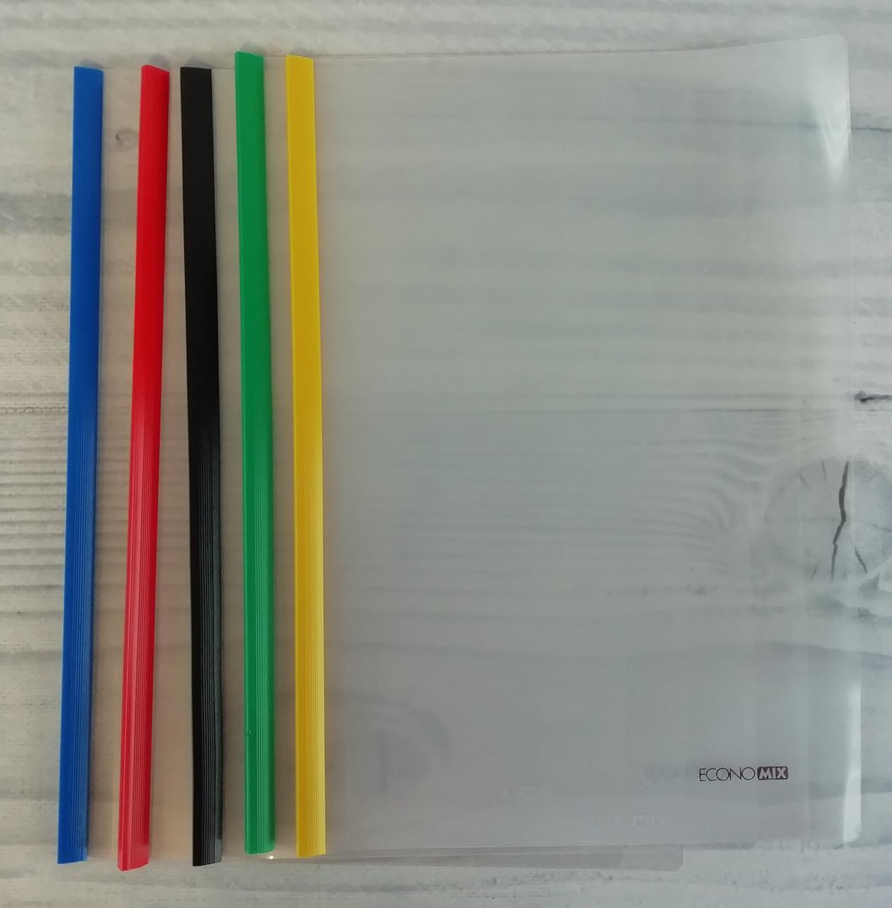 Папка с планкой А4 2-35 6мм Е31204 62668 Economix Китай