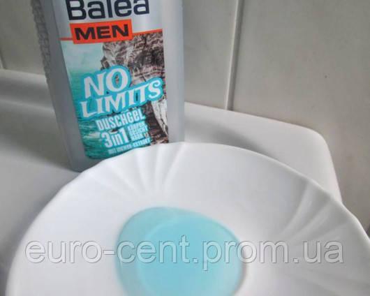 Гель-шампунь для душа мужской Balea NO LIMITS duschgel 3in1
