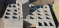 Шлакоблок стеновой вибропрессованный
