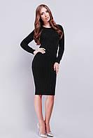 Платье 128-1 черный, фото 1