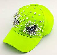 Детская бейсболка кепка с 50 по 54 размер детские бейсболки головные уборы кепки для девочки летняя, фото 1