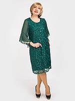 Женское вечернее платье большого размера. Размер 48, 50, 52