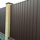 Колпаки и парапеты на забор матовый, фото 2