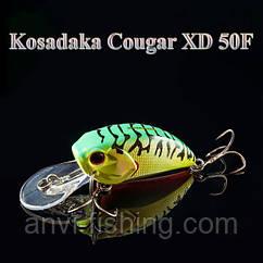 Воблер Kosadaka Cougar XD 50F