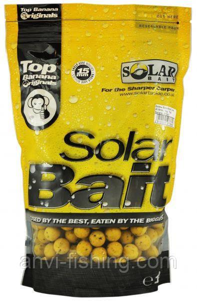 Бойлы Solar SHELF-LIFE - TOP BANANA - 15mm - 1kg