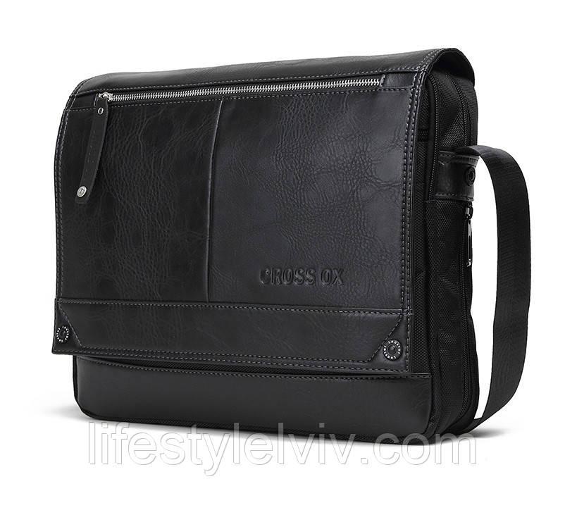 31c23c9fc63c Мужская кожаная сумка Ox Bag Business Casual (натуральная кожа, полиестер)  - Интернет магазин